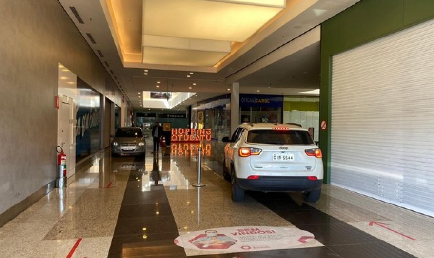 Shopping de Botucatu suspende entrada de carros no local